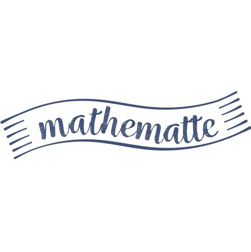 Mathematte logo montessori rechenteppiche